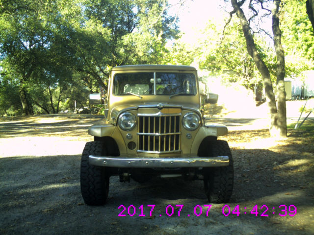 1950 Willy S Station Wagon 4x4 For Sale Willys Station