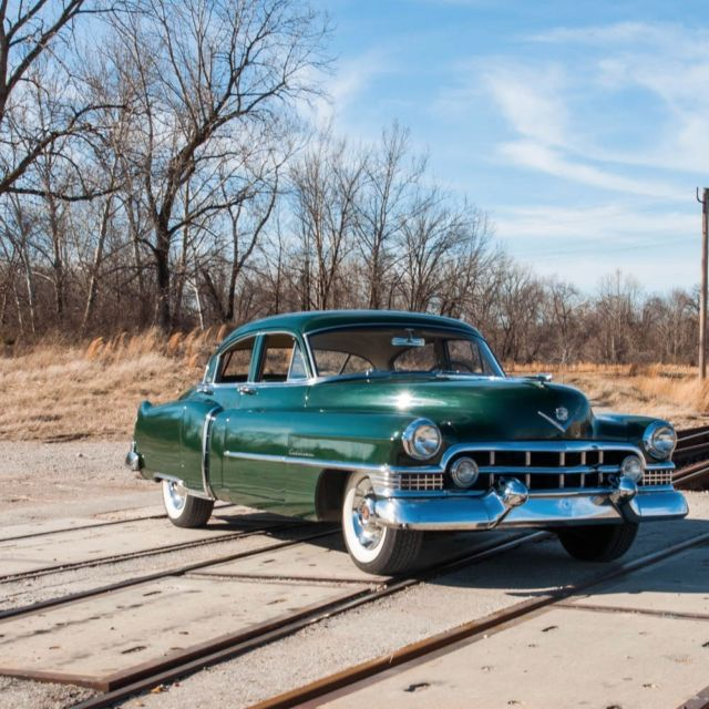 Cadillac V Series For Sale: 1951 Cadillac Series 61 Sedan, Exeter Green, 331 V8, New Vinyl Interior..LOOK For Sale