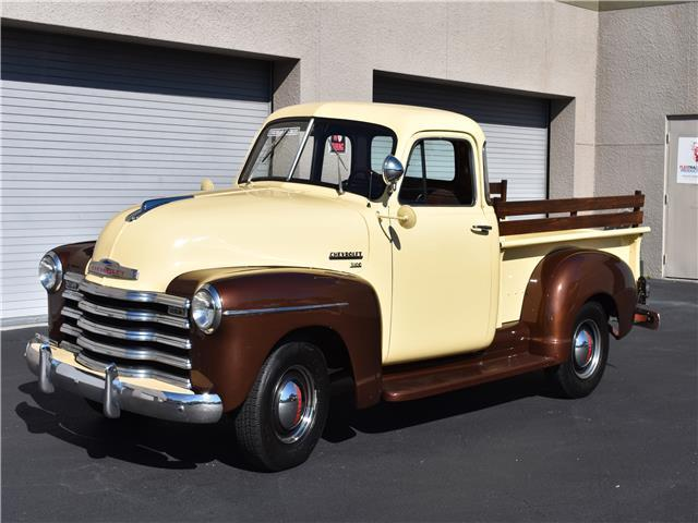 1951 chevrolet 1 2 ton 5 window pickup truck vintage antique truck barn find for sale. Black Bedroom Furniture Sets. Home Design Ideas