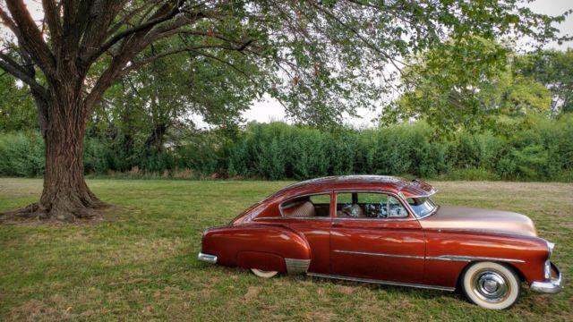 1951 Chevrolet Chevy Fleetline 2 two Door coupe Fastback ...