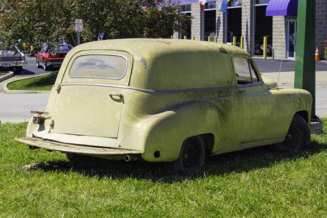 1951 chevrolet panel truck project car needs complete restoration no reserve for sale. Black Bedroom Furniture Sets. Home Design Ideas