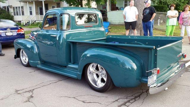 1951 Chevrolet Short Bed Pickup Truck 5 Window Street Rod