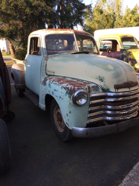 1951 chevy 5 window truck solid farm fresh 1947 1948 1949 for 1948 5 window chevy truck sale