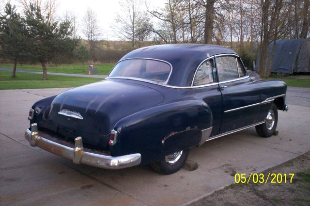 1951 Chevy Sport Coupe Deluxe For Sale Chevrolet Other