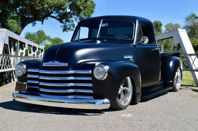 1951 chevy truck 3100 5 window bagged pickup for sale for 1951 gmc 5 window pickup