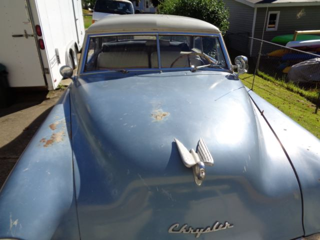 1951 Chrysler Windsor Deluxe Club Coupe For Sale