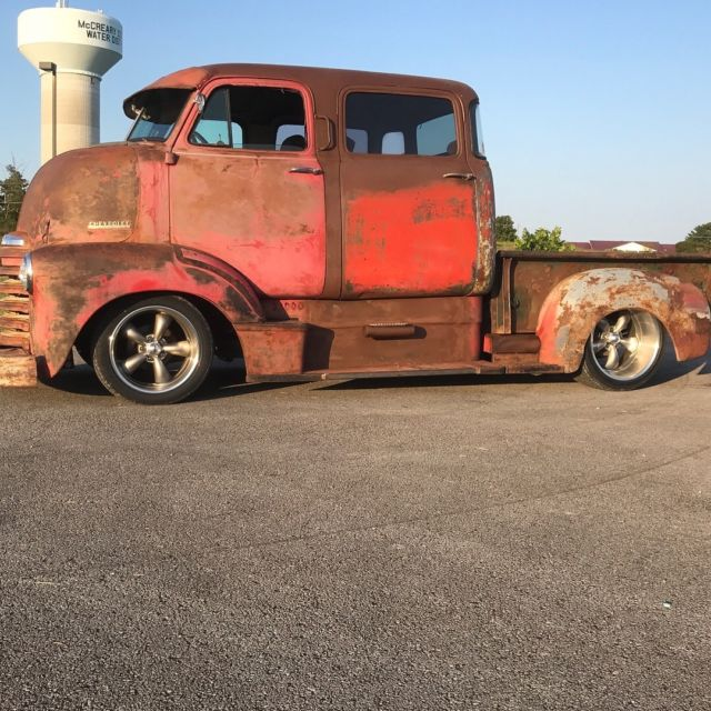 1951 Coe Chevrolet Crew Cab Over Engine Rat Rod Patina Ls