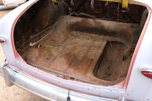 1951 FORD 2 DOOR SEDAN SHOEBOX KUSTOM 1950 1949 CUSTOM