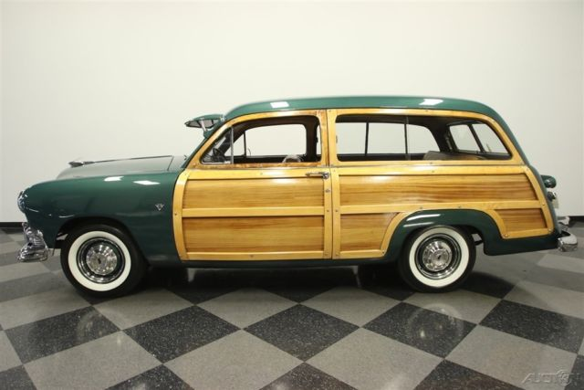 1951 ford country squire woody wagon station wagon 1951. Black Bedroom Furniture Sets. Home Design Ideas