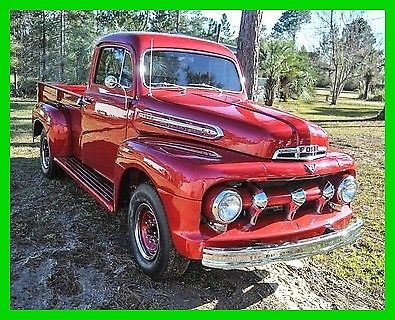 1951 Ford F-3 Pickup Truck, 3-Speed Manual, 239 V8 Engine