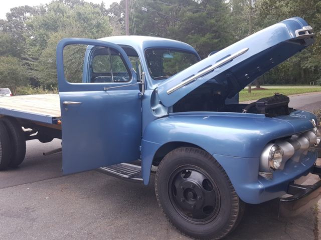 1951 Ford F5 - 1.5 Ton Flat Bed - Like COE - 429 V8 - Restored - Estate for sale - Ford Other