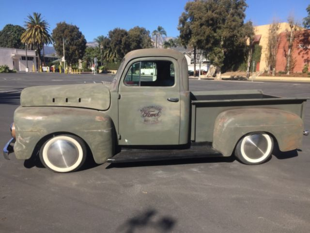 1951 ford, Truck,F-1 truck, rat rod, custom for sale - Ford