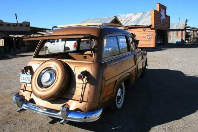 1951 Ford Woody Country Squire Station Wagon 302 Mustang