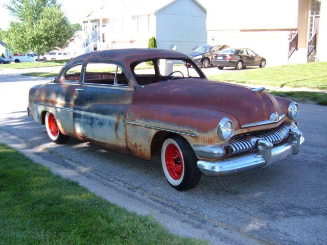 1951 mercury monterey 2 door lead sled patina barn for 1950 mercury 2 door for sale