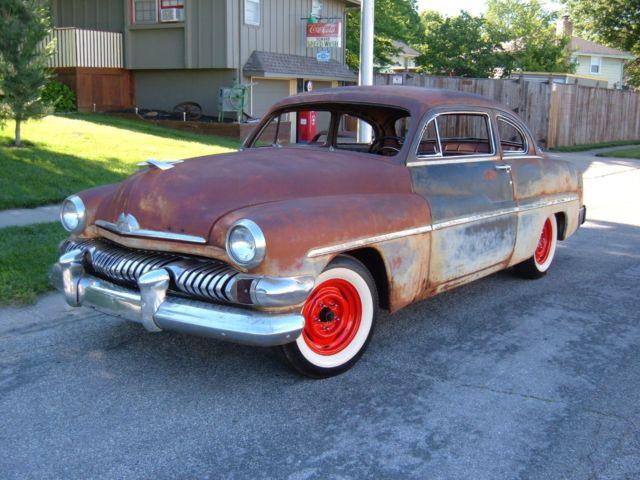 1951 mercury monterey 2 door lead sled patina barn for 1951 mercury 2 door coupe