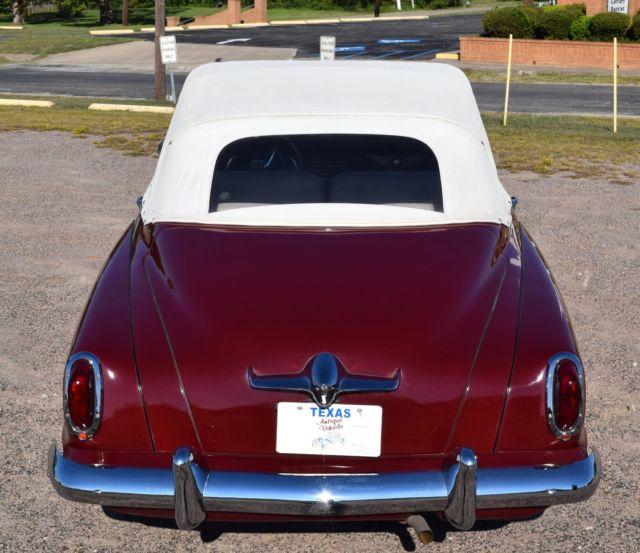 1951 Studebaker Champion Convertible, Flathead 6, 3 Speed on Column