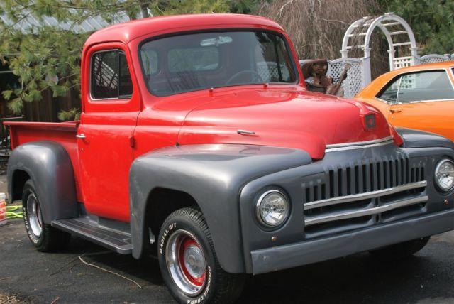 1951 truck international l110 pickup hotrod ratrod streetrod