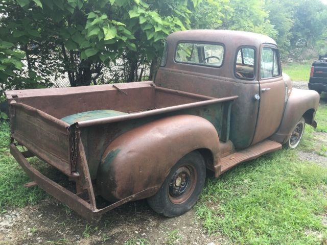 1952 5 window chevrolet 3100 chevy pickup patina barn find for 1952 chevy 3100 5 window for sale