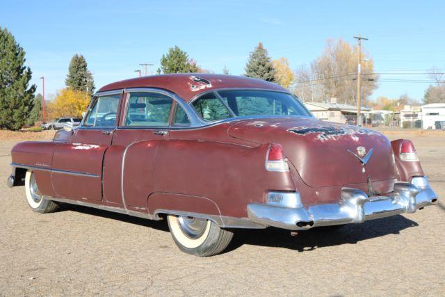 1952 Cadillac Series 62 - Colorado Car - Barn Find ...