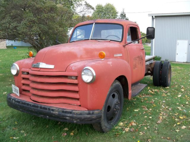 Webb Chevrolet >> 1952 Chevrolet Chevy 2 ton 6400 truck 4 speed 2 speed rear axle for sale - Chevrolet Other ...
