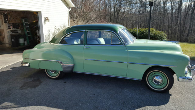 1952 chevrolet two door deluxe coupe real nice original for 1952 chevy deluxe 2 door for sale