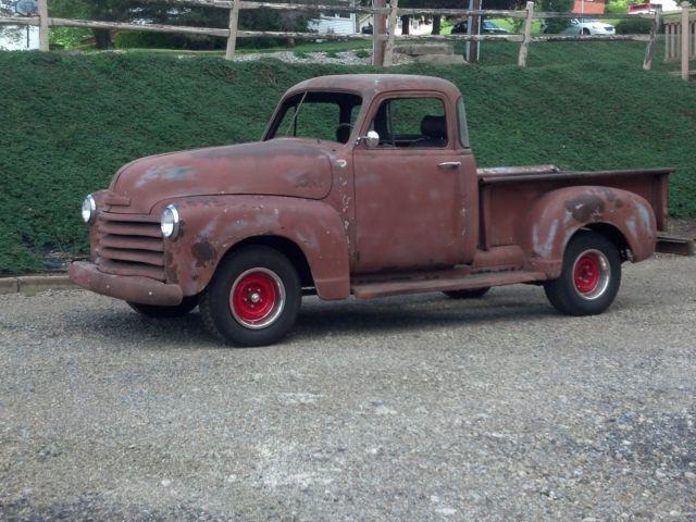 1952 chevy 3100 pickup truck 1 2 ton short bed for sale chevrolet other pickups 3100 1952 for. Black Bedroom Furniture Sets. Home Design Ideas