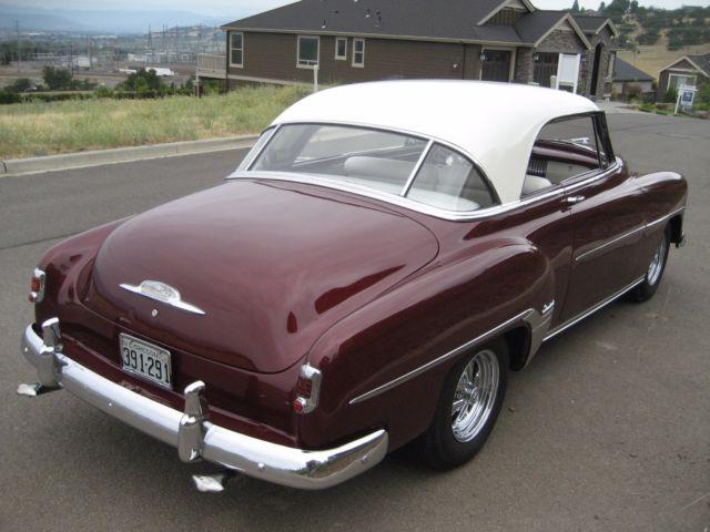 1952 Chevy Belair Two-door Hardtop For Sale