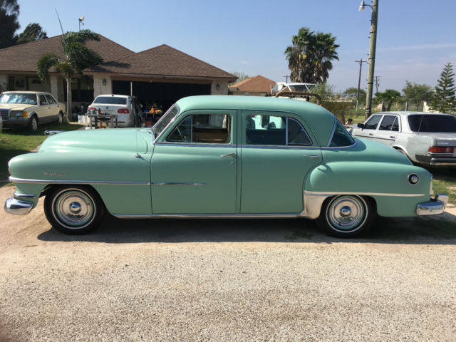 1952 Chrysler Windsor Deluxe 4 Door 6 Cylinder 4 3 Flat Head Fluidmatic Running For Sale Chrysler Other 1952 For Sale In Los Fresnos Texas United States
