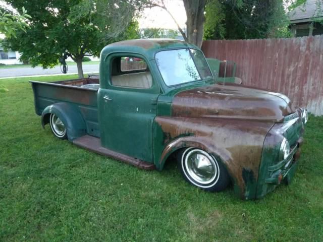1952 dodge b3b pickup truck 1 2 ton short bed s10 chassis w 4 cylinder 5 speed for sale dodge. Black Bedroom Furniture Sets. Home Design Ideas