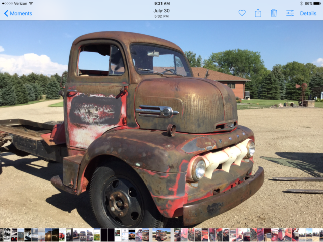 Coe Car Hauler For Sale >> 1952 RARE FORD F6 COE CABOVER HAULER PICKUP TRUCK Chevy 1957 for sale - Ford Other Pickups FORD ...