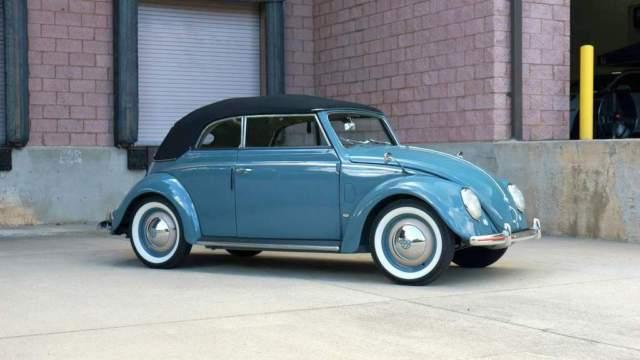 1952 volkswagen beetle 151 karmann cabriolet stunning condition concours quality for sale. Black Bedroom Furniture Sets. Home Design Ideas