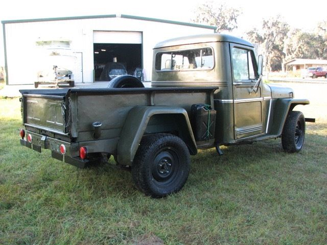 1952 willys four wheel drive pickup for sale willys pickup 1952 for sale in east palatka. Black Bedroom Furniture Sets. Home Design Ideas