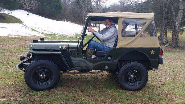 1952 Willys Jeep CJ3-A, IMMACULATE! for sale - Willys CJ ... on