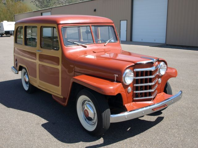 1952 Willys Jeep Station Wagon For Sale Jeep Wagoneer