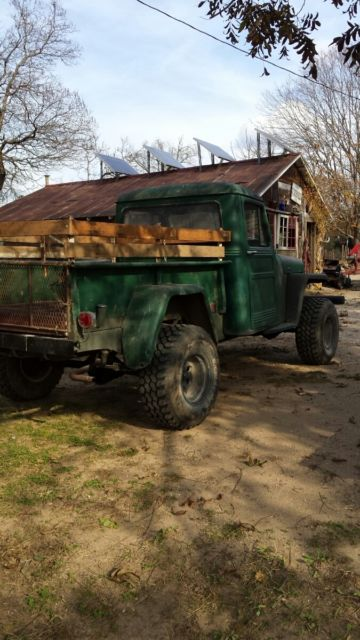 1952 Willys Pickup Utility Jeep for sale - Willys pickup