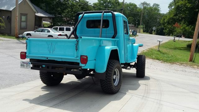 1952 willys truck on chevy 4x4 chassis 350v8 automatic for