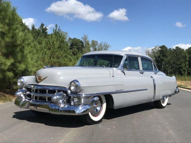 1953 cadillac series 62 sedan gray gray auto runs for 1953 cadillac 4 door