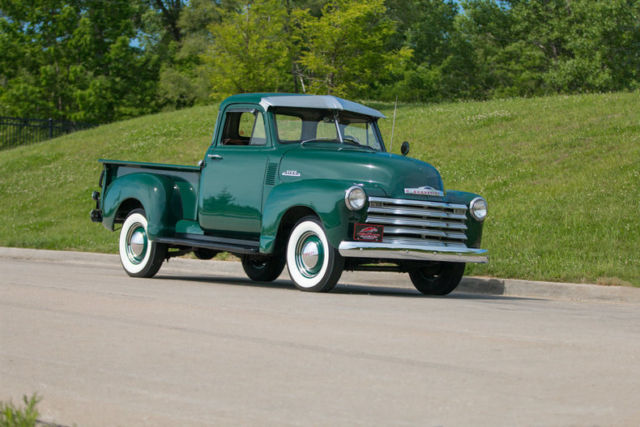 1953 Chevrolet 3100 5 Window Pickup Restored Original