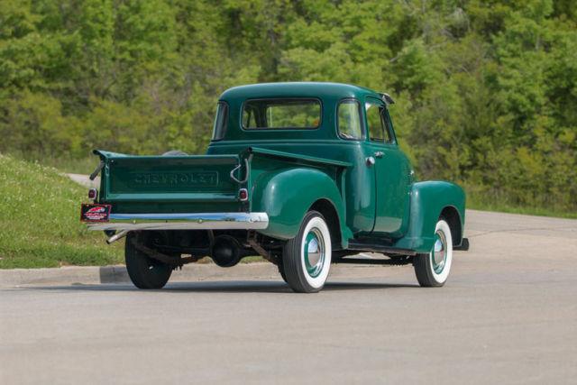 1953 chevrolet 3100 5 window pickup restored original inline 6 cylinder for sale chevrolet. Black Bedroom Furniture Sets. Home Design Ideas