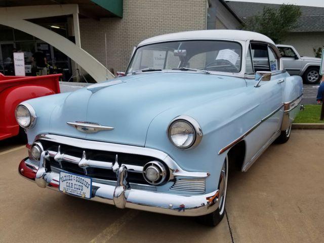 1953 chevrolet bel air 2 door hard top for sale for 1953 belair 2 door