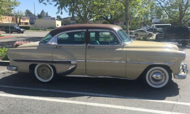 1953 Chevrolet Belair Series 4 Door Sedan Hard Top For Sale Chevrolet Bel Air 150 210 Belair Series 1953 For Sale In Santa Rosa California United States