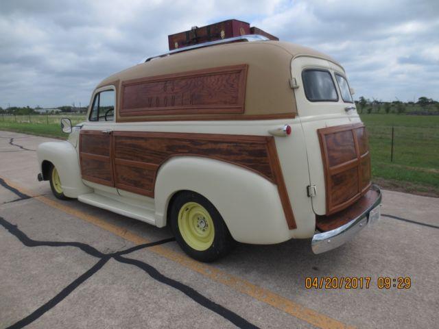 Chevrolet Custom Woody Panel Van Door