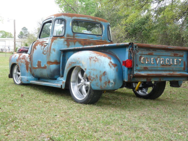 1953 Chevy Rare 5 Window Hot Rod Truck Patina Rat Rod