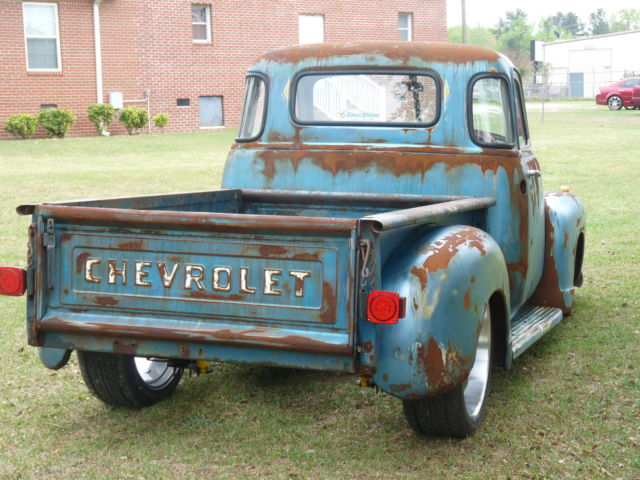 1953 chevy rare 5 window hot rod truck patina rat rod for 1953 5 window chevy truck for sale