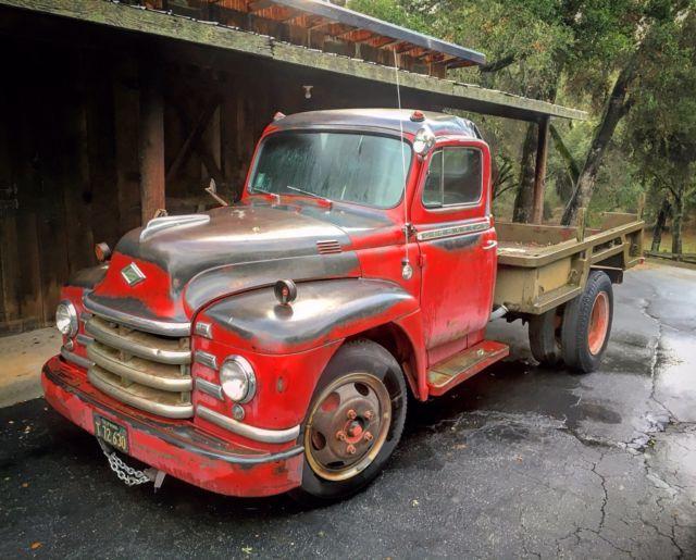1953 Diamond T vintage pick up truck Barn Find for sale ...