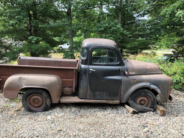 dodge  pilot house truck  matic rat hot rod barn find project pickup ny  sale dodge