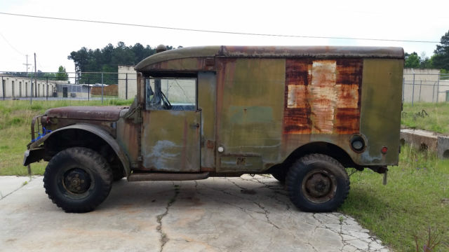 1953 Dodge, Truck, M43 Ambulance, Military Vehicle, Air Force for