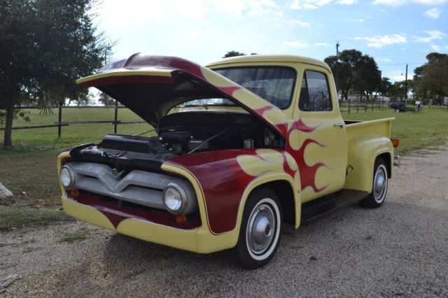 1953 Ford F100 Pick Up Truck For Sale Ford F 100 1953