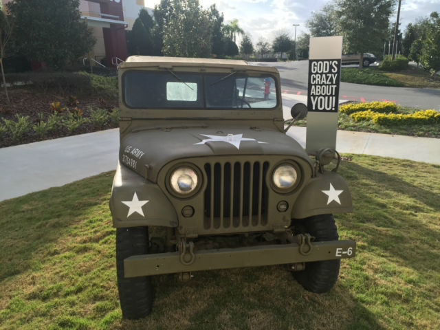 1953 M38A1 4x4 Authentic Korean War Army Jeep for sale - Willys