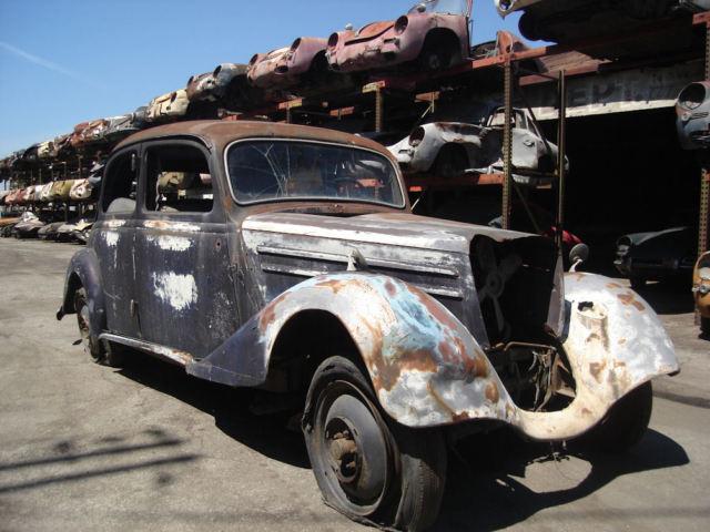 1953 mercedes 170 da project car for restoration for sale for 1953 mercedes benz 220 sedan for sale